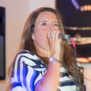 Joanne Cassidy singer for Marotta Brothers Band