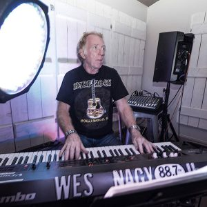 Wes Nagy keyboardist for Marotta Brothers Band